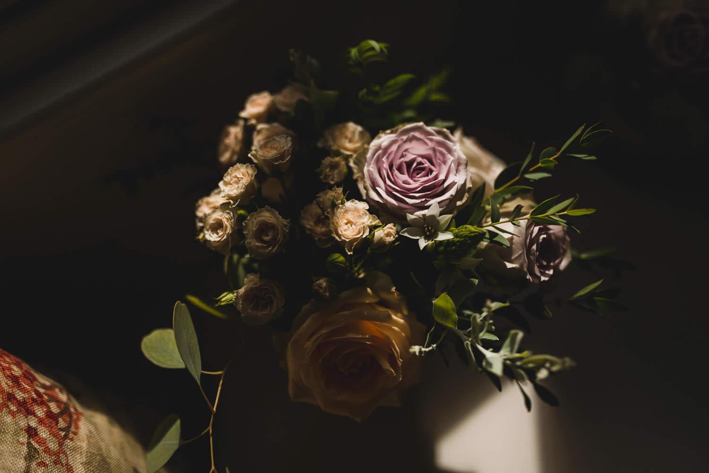 Photograph of wedding bouquet
