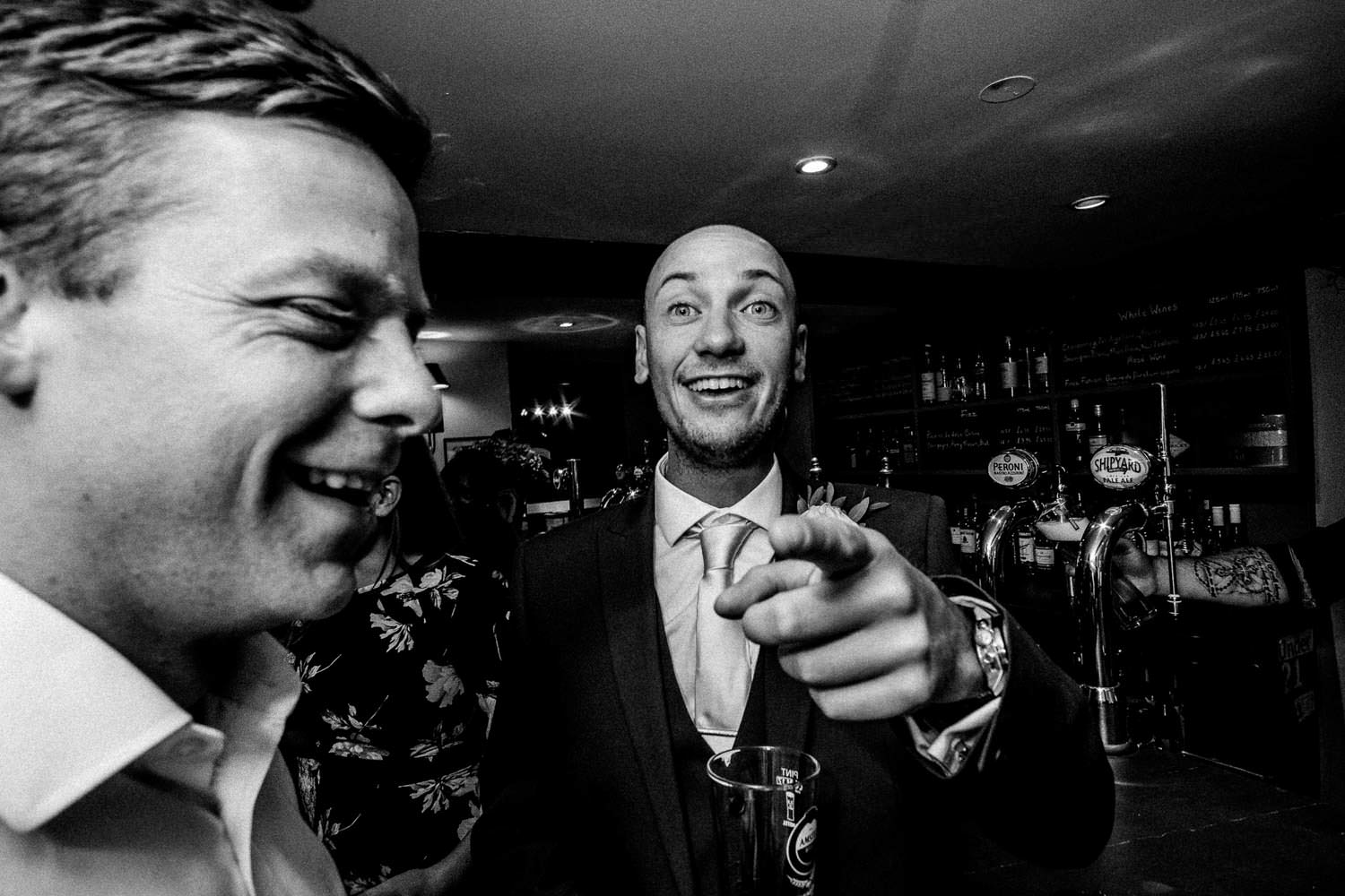 Party photography at The Punch Bowl Inn, Lake District