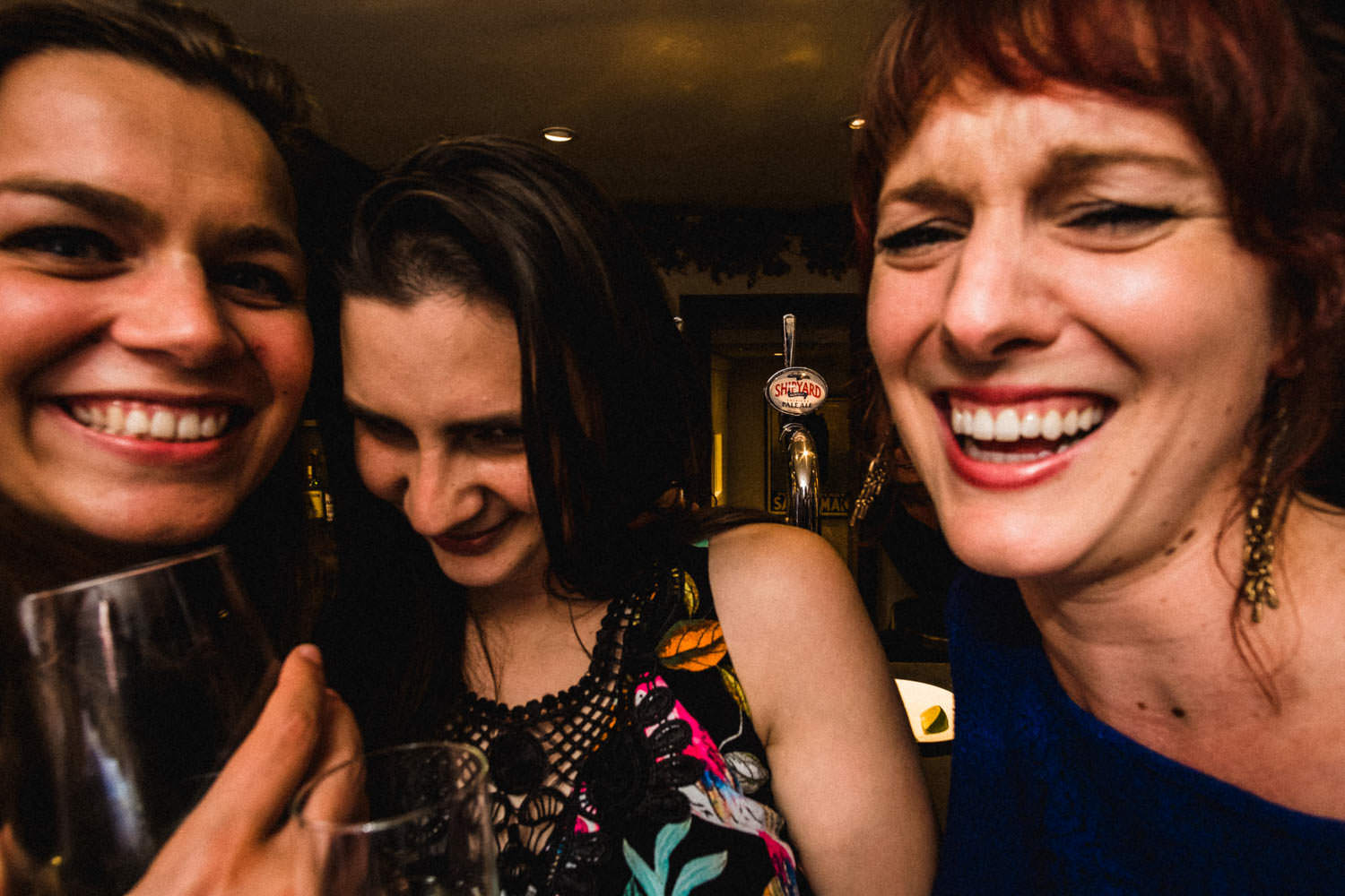 Documentary party photography at The Punch Bowl Inn, Lake District